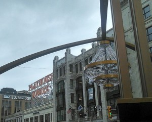 Playhouse Square Cleveland streetscape
