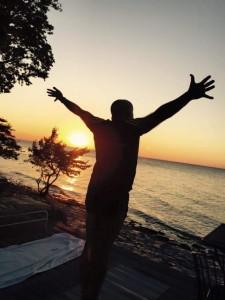 SUN salutation 2